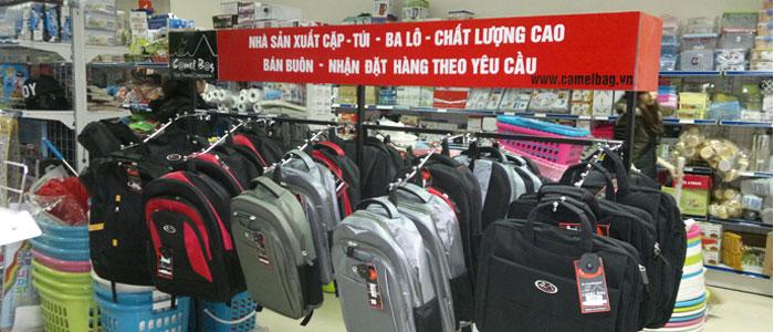 Sản xuất balo túi xách, cặp da, túi du lịch kéo, vali du lịch