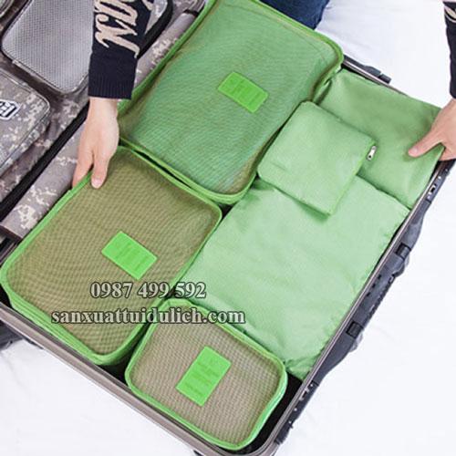 Bộ các món túi đựng đồ du lịch cá nhân