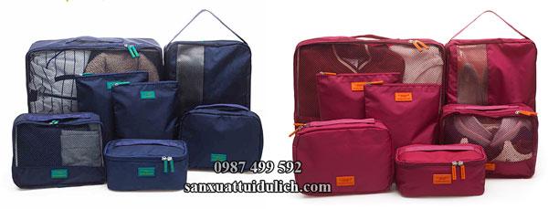 Sản xuất set túi đựng đồ du lịch xuất khẩu