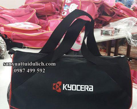 Mẫu túi trống thể thao Kyocera