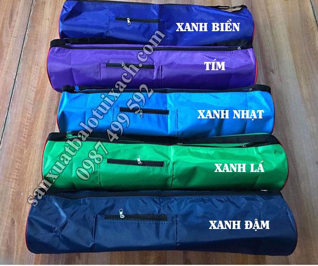 May túi đưng thảm yoga theo màu sắc yêu cầu