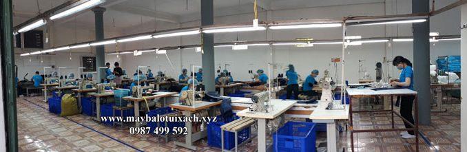 nhà máy xuất khẩu balo túi xách tại Ninh Bình