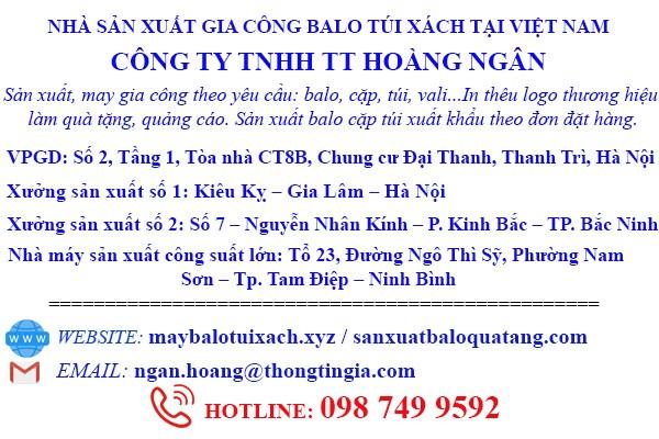 Công ty sản xuất túi dây rút tại Hà Nội