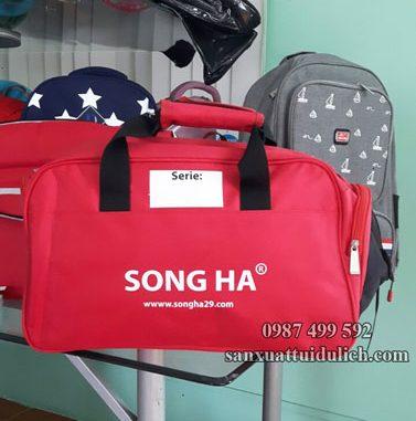 mẫu túi du lịch quà tặng Song Hà