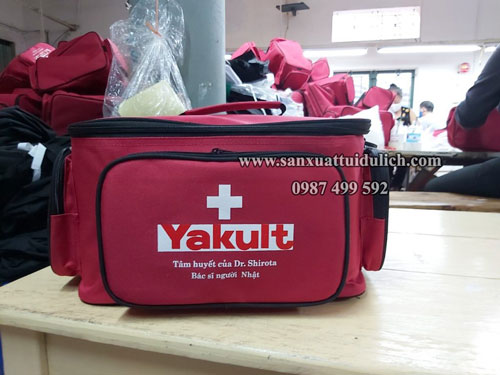 Sản xuất túi y tế Yakult