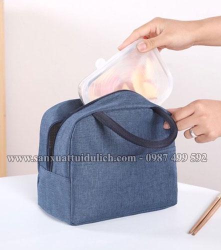 Sản xuất túi giữ nhiệt đựng hộp cơm quà tặng