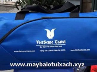 Mẫu túi du lịch quà tặng Vietsense Travel