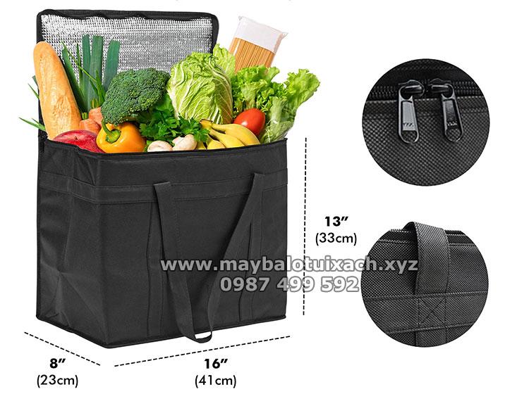 Sản xuất túi giữ nhiệt đưng rau củ