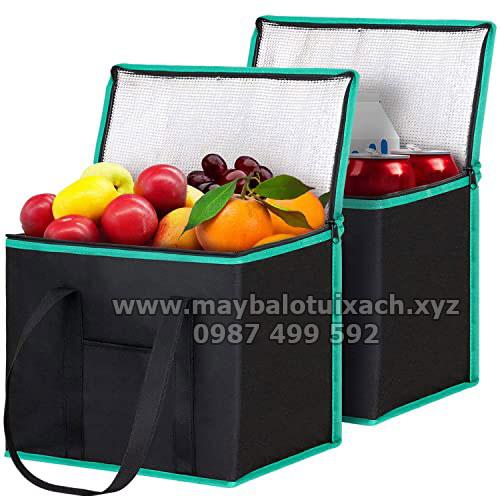 Sản xuất túi giữ nhiệt đựng hoa quả